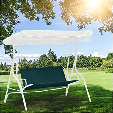 LFOZ Waterproof Swing Cover Chair Bench Replacement Patio Garden Outdoor UV Resistant Swing Seat Furniture Dust Cover Shade 4