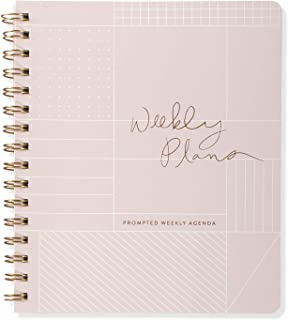 Fringe Non-Dated Weekly Planner, 160 Pages, 7 x 8.375 Inches, Grid (878101)