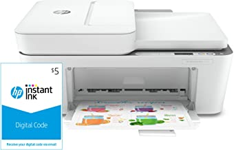 HP DeskJet Plus 4155 Wireless All-in-One Printer and Instant Ink $5 Prepaid Code
