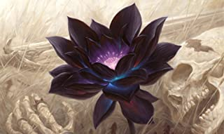 RFG REMOVE FROM GAME Black Lotus Playmat 24 x 14 inch Mousepad for Yugioh Pokemon Magic The Gathering