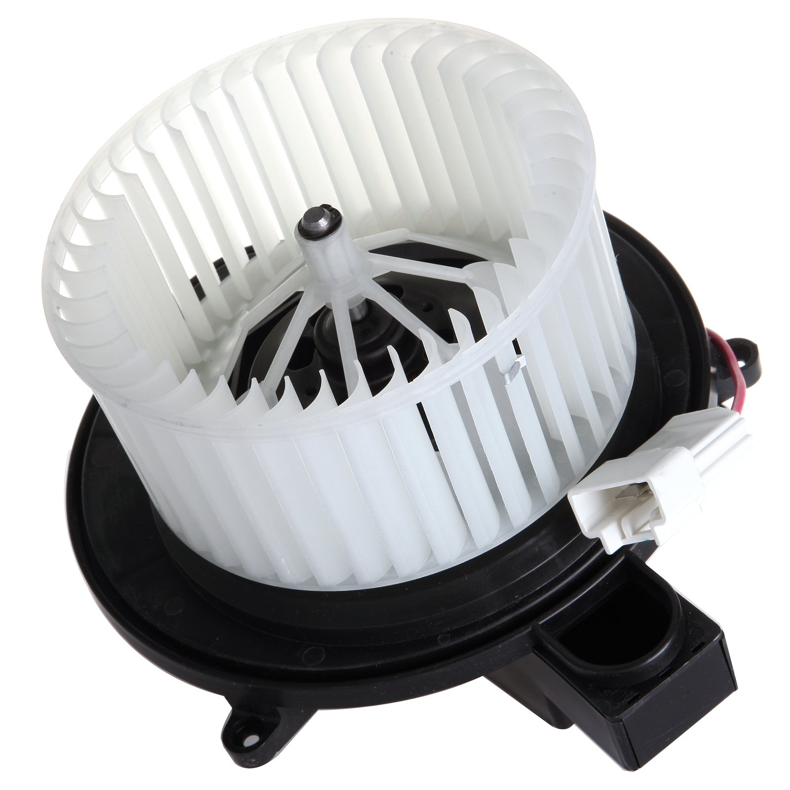 ABS plastic Heater Blower Motor SCITOO w//Fan Cage fit 2004-2008 Chrysler Pacifica 2001-2007 Chrysler Town andamp 2001-2003 Chrysler Voyager 2001-2007 Dodge Caravan 2001-2007 Dodge Grand Caravan Front