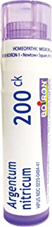 Sponsored Ad - Boiron Argentum Nitricum 200CK Homeopathic Medicine for Apprehension and Stage Fright, 80 Count
