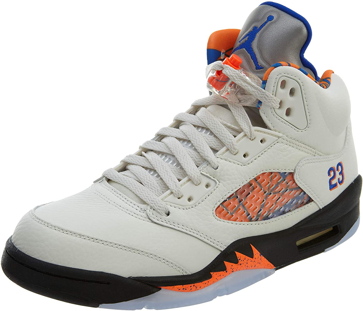 Nike Air Jordan 5 Retro - sail/hyper royal-orange peel, Größe:11 B07GNSTSZ3  | Deutsche Outlets