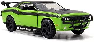 Jada 97140 Toys FF Dodge Challenger Diecast Vehicle, Green, 1:32 Scale, Green/Black