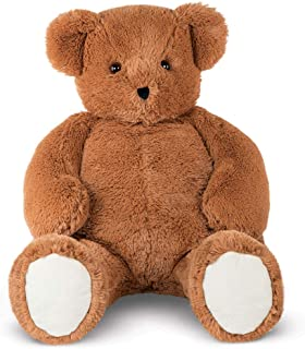Vermont Teddy Bear Big Teddy Bear - Jumbo Stuffed Animals, 4 Foot, Brown, Cuddle