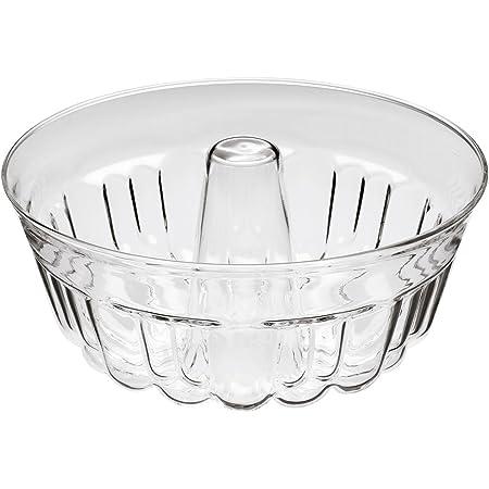 Gugelhupfform 21 cm Napfkuchenform Glas Backform Kuchenform Bundform Simax