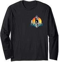 Malibu Coastal California Famous Surfing Beach Souvenir Long Sleeve T-Shirt