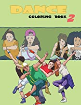 Dance Coloring Book (Volume 2)