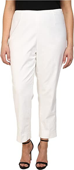 Plus Size Perfect Side Zip Ankle Pants