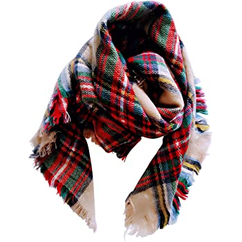 kids Scarves or Wraps Amazon.com: Jastore Kids Girls Boys Stylish Grid Warm Blanket Scarf  Gorgeous Wrap Shawl (Color 1): Clothing