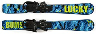 Lucky Bums Kid's Beginner Snow Skis