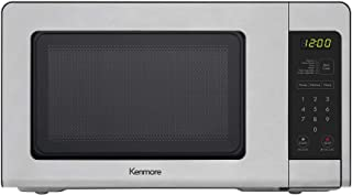 Kenmore 70723 0.7 cu. ft Compact 700 Watts 10 Power Settings, 6 Heating Presets, Removable Turntable, ADA Compliant Small ...