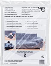 NIPS 140815001 Couchhülle 2er Packung Größe 3000 x 1300 mm, LDPE-Folie transparent