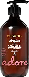 Essano Rosehip & Jasmine Daily Repair Body Wash 445ml
