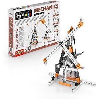 Engino ENG-STEM05 Discovering Mechanics Gears /& Worm Drives Construction Kit