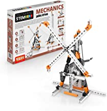 Engino Discovering STEM Mechanics Pulley Drives | 8 Working Models | Illustrated Instruction Manual | Theory & Facts | Exp...