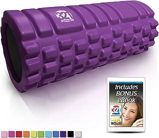 321 STRONG Foam Roller - Massager Dense Massage Massage for Massage Massage و Edition Point Myofascial Trigger Point ، با 4K eBook