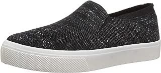 Women's Poppy-Cloud Dust. Maylar Fleck Knit Slip on Sneaker, Black, 10 M US