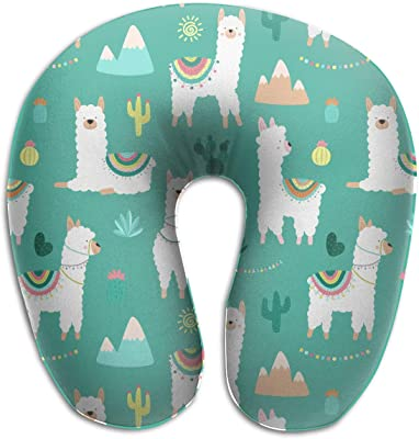 Amazon.com: Comfortable Green Feather Travel Pillow,Get ...