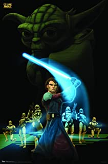 """Trends International Star Wars: The Clone Wars The Force Wall Poster 22.375"""" x 34"""""""