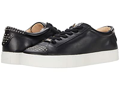 J/Slides Lulu (Black Leather) Women