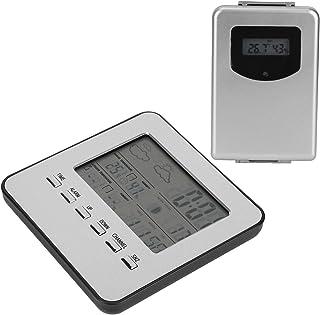 Hygrometer, hög noggrannhet termometer Hygrometer för mätning av temperatur och luftfuktighet för väderrapport väckarklocka