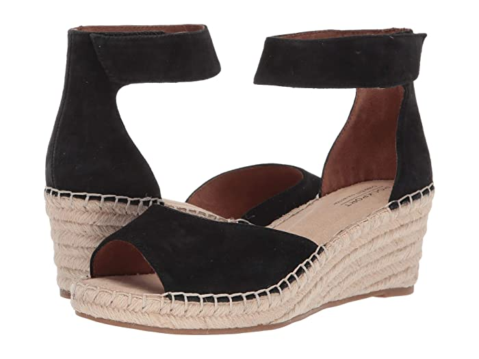 Rockport Cobb Hill Collection Kairi Two-Piece Ankle (Black) Women's Sandals