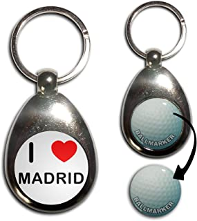 Amazon.com: real madrid keychain