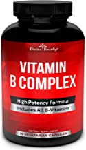 Super B Complex Vitamins – All B Vitamins Including B12, B1, B2, B3, B5, B6, B7,..
