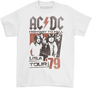 ACDC Youth Boys Kids Short Sleeve T-Shirt BLACK HTH