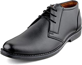 Escaro Everyday Wear Men's Formal Lace Up Ankle Shoes