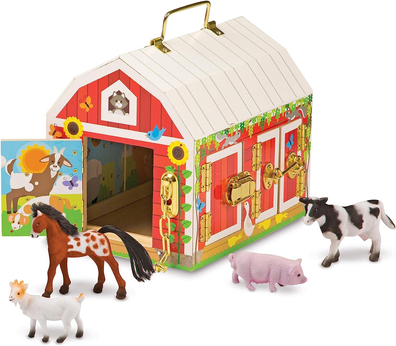Melissa Doug Max 51% OFF Latches Toy Barn Indefinitely