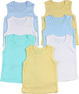 Boy's Pack of 4 Tank Tops