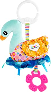 LAMAZE Lamaze Sierra The Swan Clip On Baby Toys, Multi