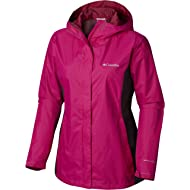 Columbia Women's Plus Size Arcadia II Jacket, Haute Pink/Shark X-Large
