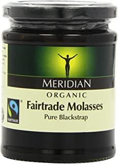 Meridian - Organic & Fairtrade Molasses - Pure Blackstrap - 350g (Case of 6)