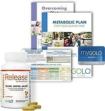 GOLO Release Diet Supplement - Metabolic Plan Health Management System - Boosts Energy, Balances Hormones - No Caffeine, No Stimulants, Vegetarian Safe - 1 Bottle - 30 Day Supply - 90 Capsules