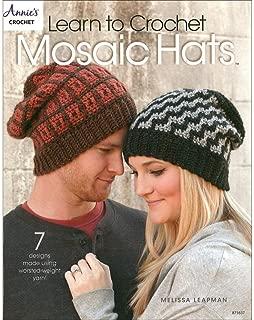 Annies Crocht Learn to Crochet Mosaic Hats Bk
