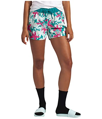 The North Face Class V Shorts (Jaiden Green Small Festive Floral Print) Women