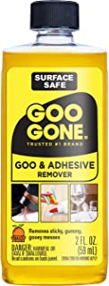 Best Goo Gone Original - 2 Ounce - Surface Safe Adhesive Remover Safely Removes Stickers Labels Decals Residue Tape Chewing Gum Grease Tar Review