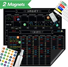 Magnetic Refrigerator Chore Chart Set - 11