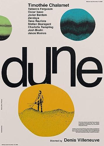 Amazon Com Dune 2021 Poster Print Wall Decor Gift Handmade