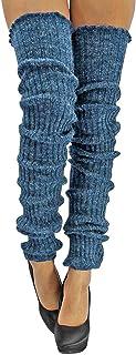 Navy blue  leg warmers approx 40cm