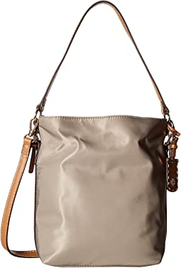 Julia Convertible Solid Nylon Hobo