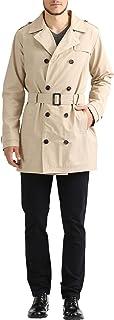 James Tyler Trench Coat con Cintura Uomo