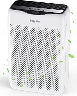Air Purifier, Bagotte H13 True HEPA Air Purifier for Home Large Room (99.97%), Quiet Air Cleaner for Pollen, Pet Hair, Smo...