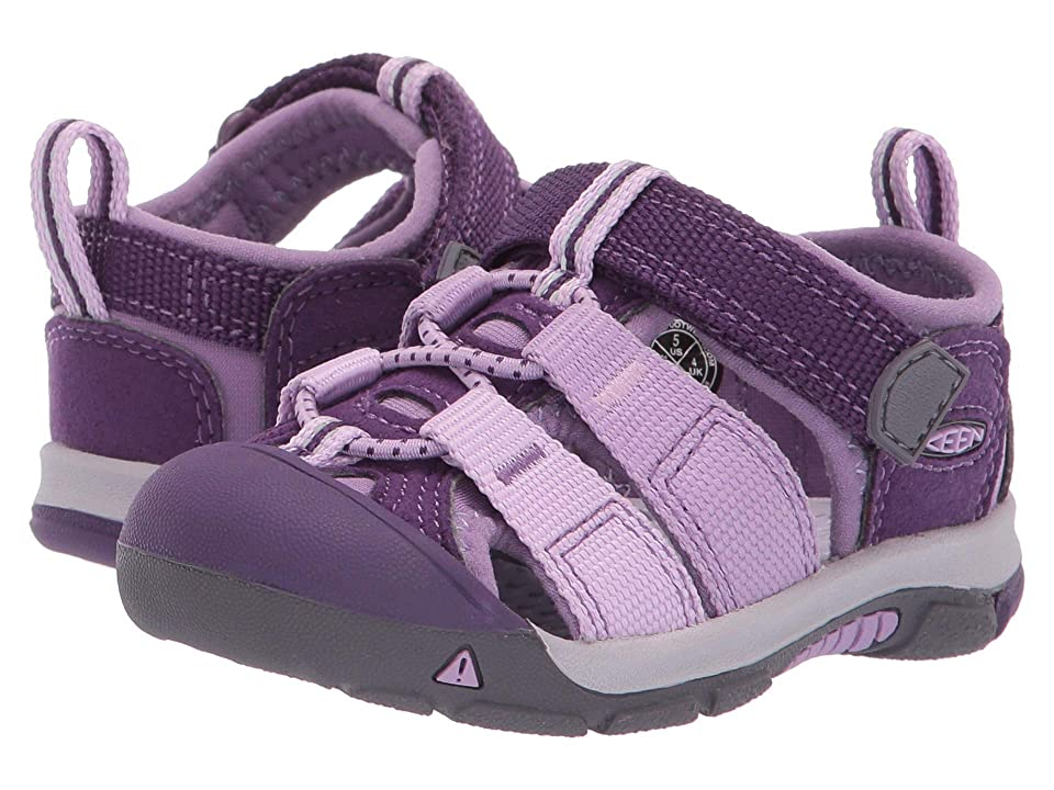 Keen Kids Newport H2 (Toddler) (Majesty/Lupine) Kids Shoes