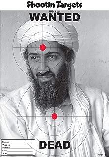 (GG) 75 Osama BIN Laden Paper Shooting Targets 3 (11X15) Pads of 25 ea