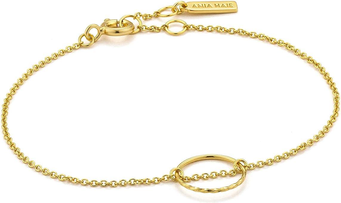 Twist Chain Circle Bracelet