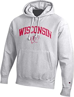 2215a025000 Champion NCAA Mens NCAA Men s Reverse Weave Gray Arch Long Sleeve Hooded  Sweatshirt